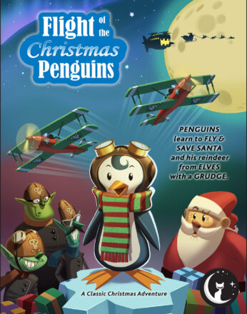 Flight of the Christmas Penguins Poster