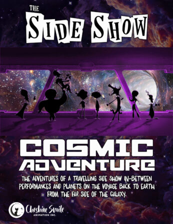 Side Show Comic Poster