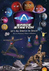 Space Stretch Show Poster